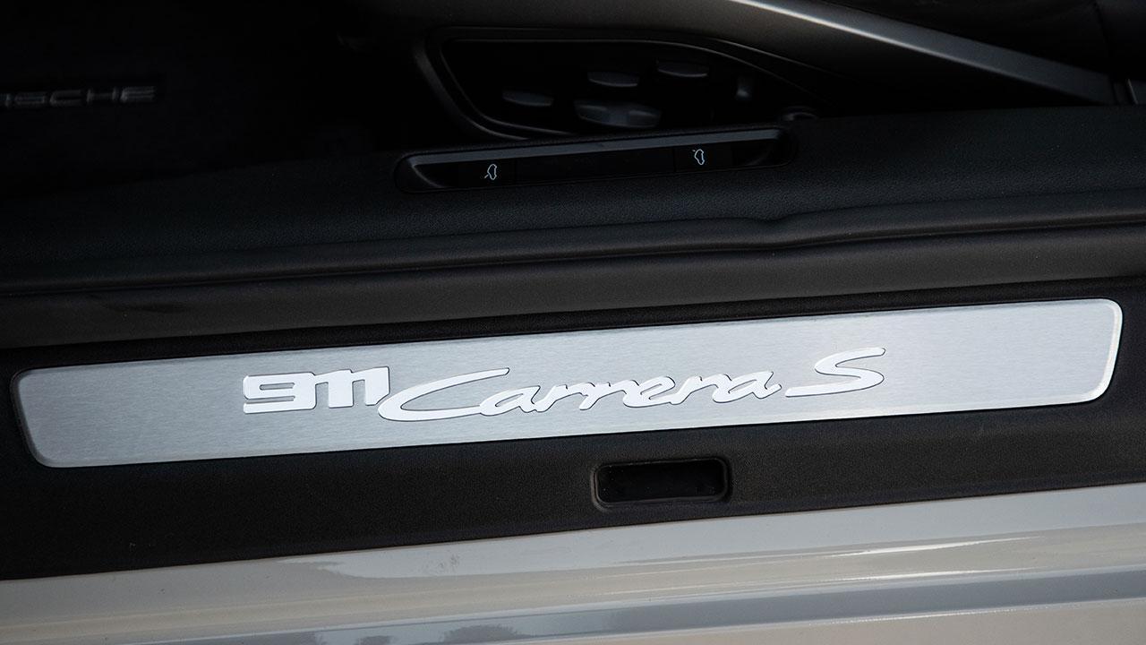 Porsche 911 Carrera S Coupé - Einstiegsleiste