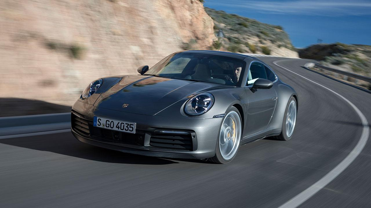 Porsche 911 Carrera S Coupé - in voller Fahrt