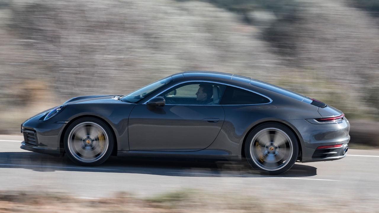 Porsche 911 Carrera S Coupé - Seitenansicht