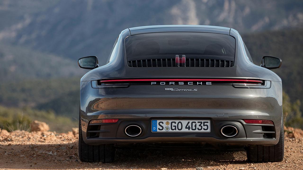 Porsche 911 Carrera S Coupé - Heckansicht