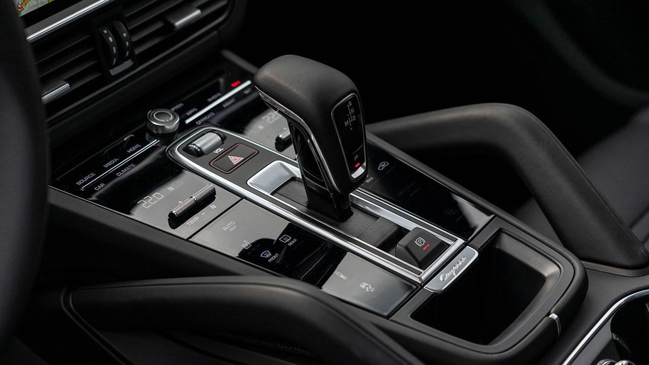Porsche Cayenne Coupé - Schaltknüppel