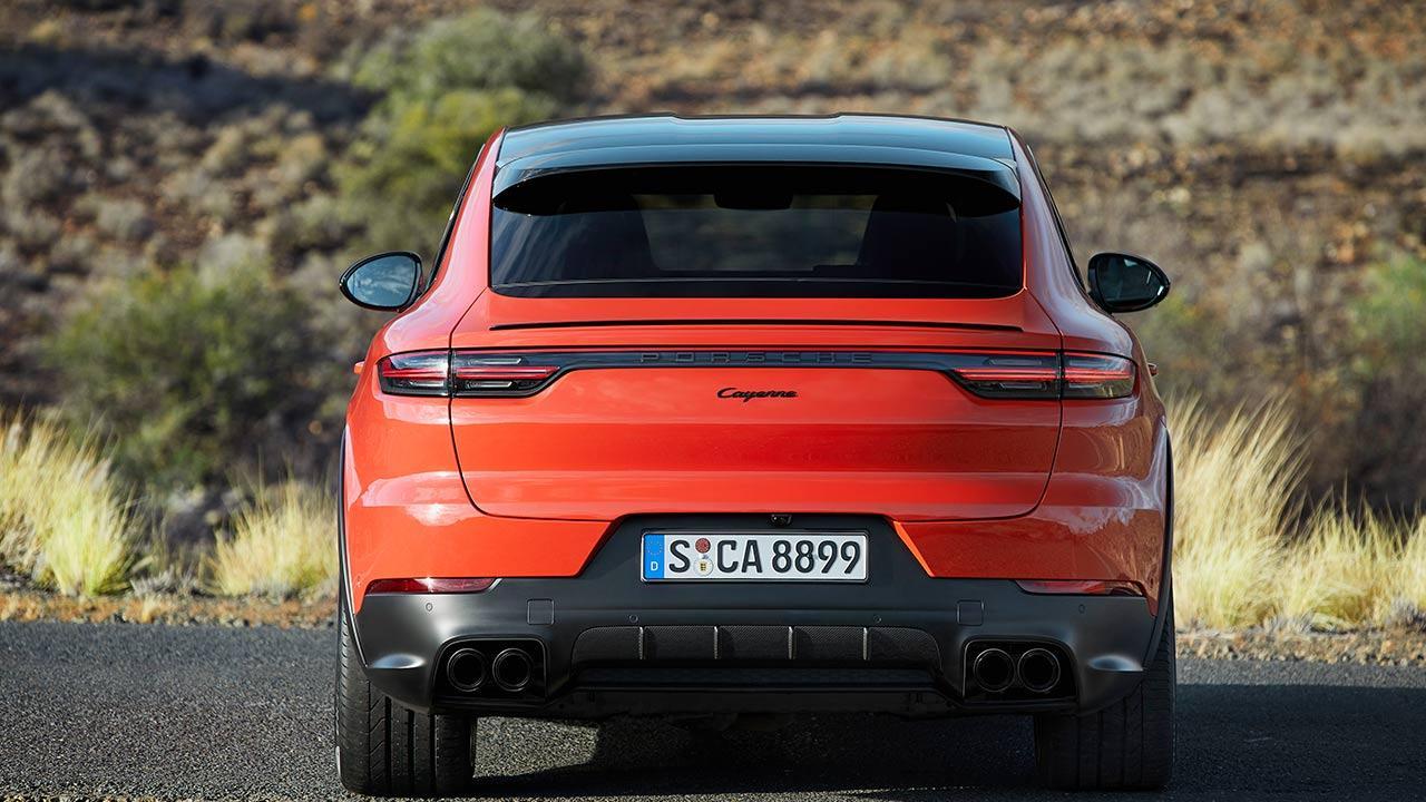 Porsche Cayenne Coupé - Heckansicht
