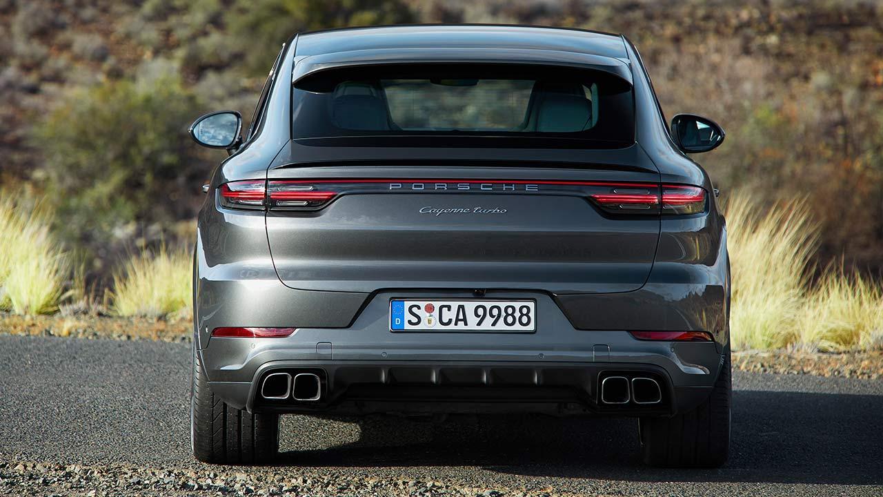 Porsche Cayenne Turbo Coupé - Heckansicht