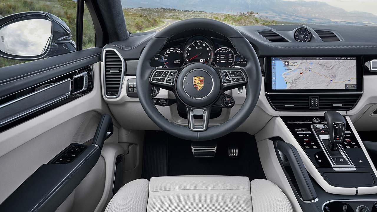 Porsche Cayenne Turbo Coupé - Cockpit