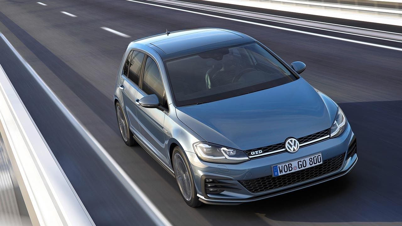 Volkswagen Golf GTD - in voller Fahrt