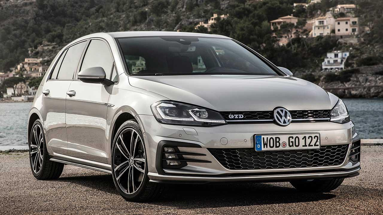 Volkswagen Golf GTD - am See