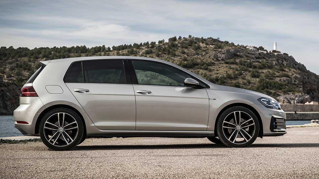 Volkswagen Golf GTD - Seitenansicht