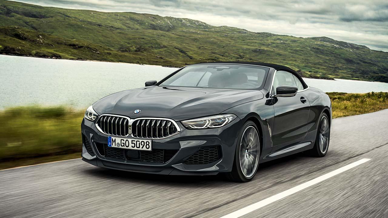 BMW M8 Cabriolet - in voller Fahrt