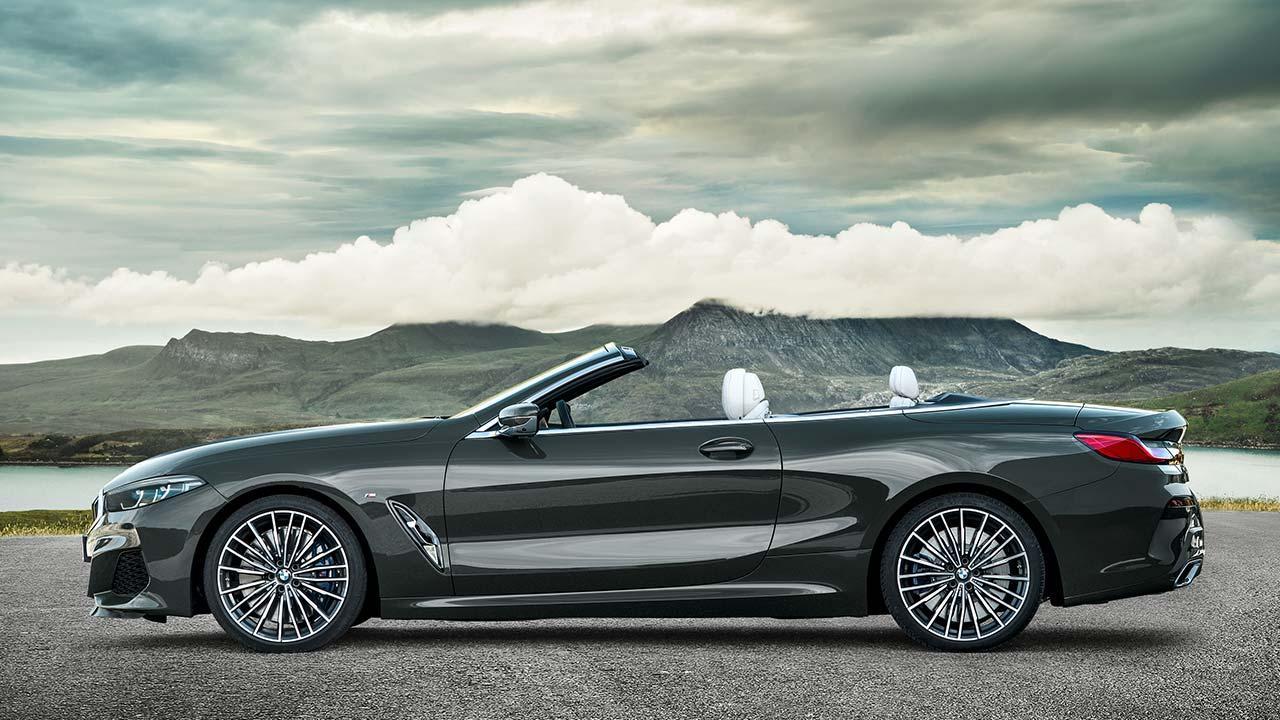 BMW M8 Cabriolet - Seitenansicht