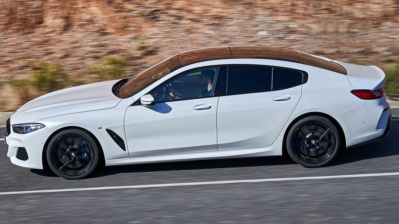 BMW 8er Gran Coupé - Seitenansicht