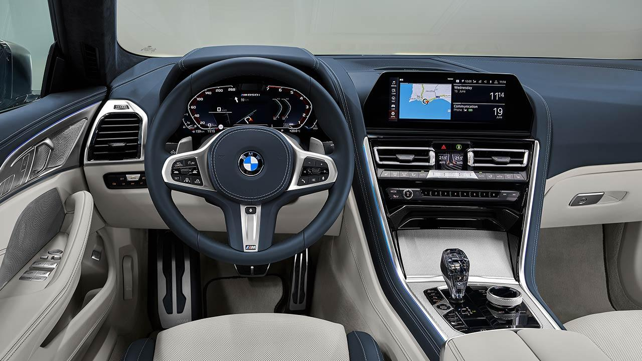 BMW M8 Gran Coupé - Cockpit