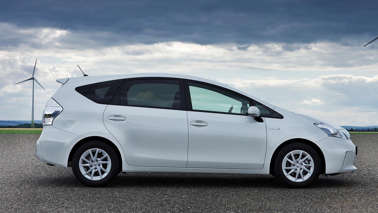 Toyota Prius Plus - Seitenansicht