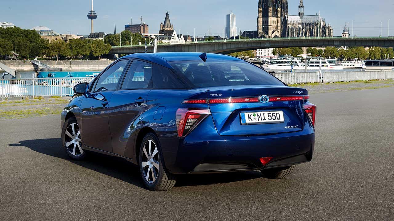Toyota Mirai - Heckansicht