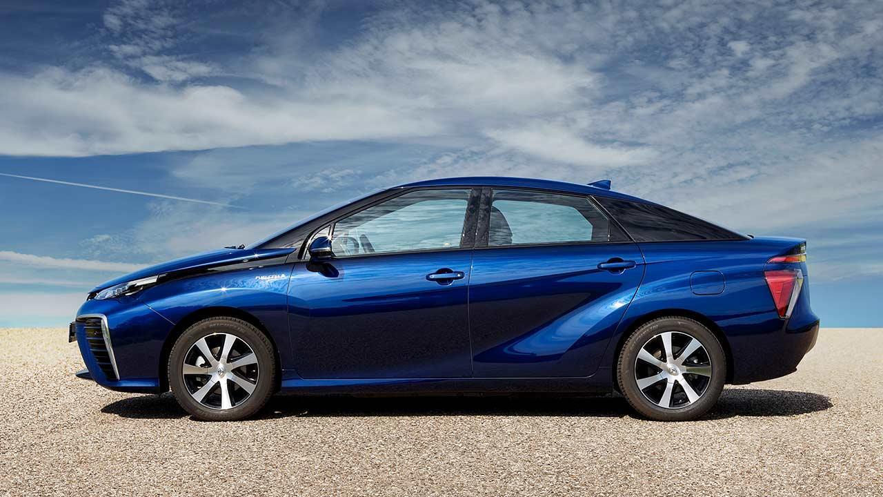 Toyota Mirai - Seitenansicht