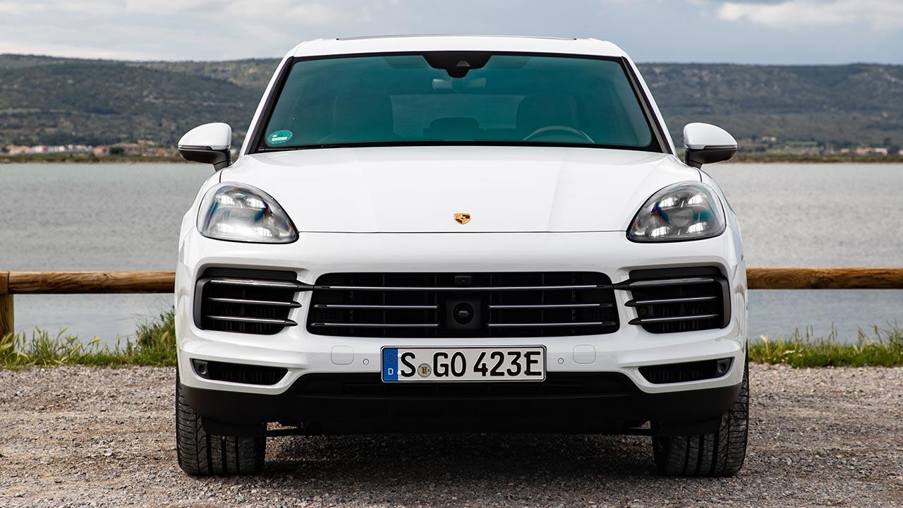 Porsche Cayenne E-Hybrid - Frontansicht