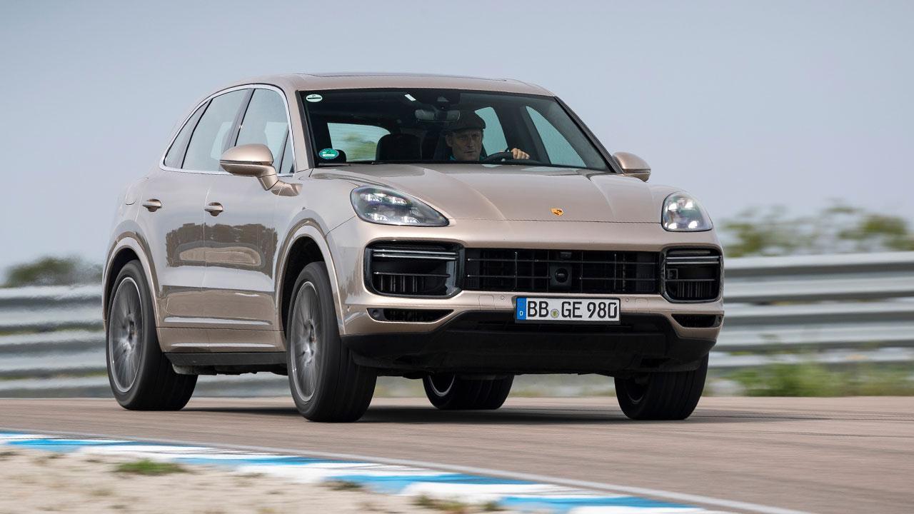 Porsche Cayenne Turbo S E-Hybrid - auf der Rennstrecke