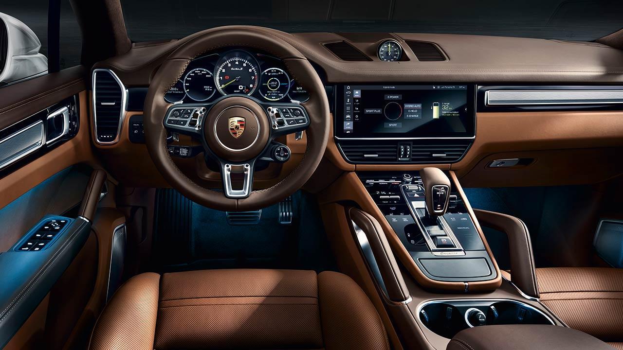Porsche Cayenne Turbo S E-Hybrid - Cockpit