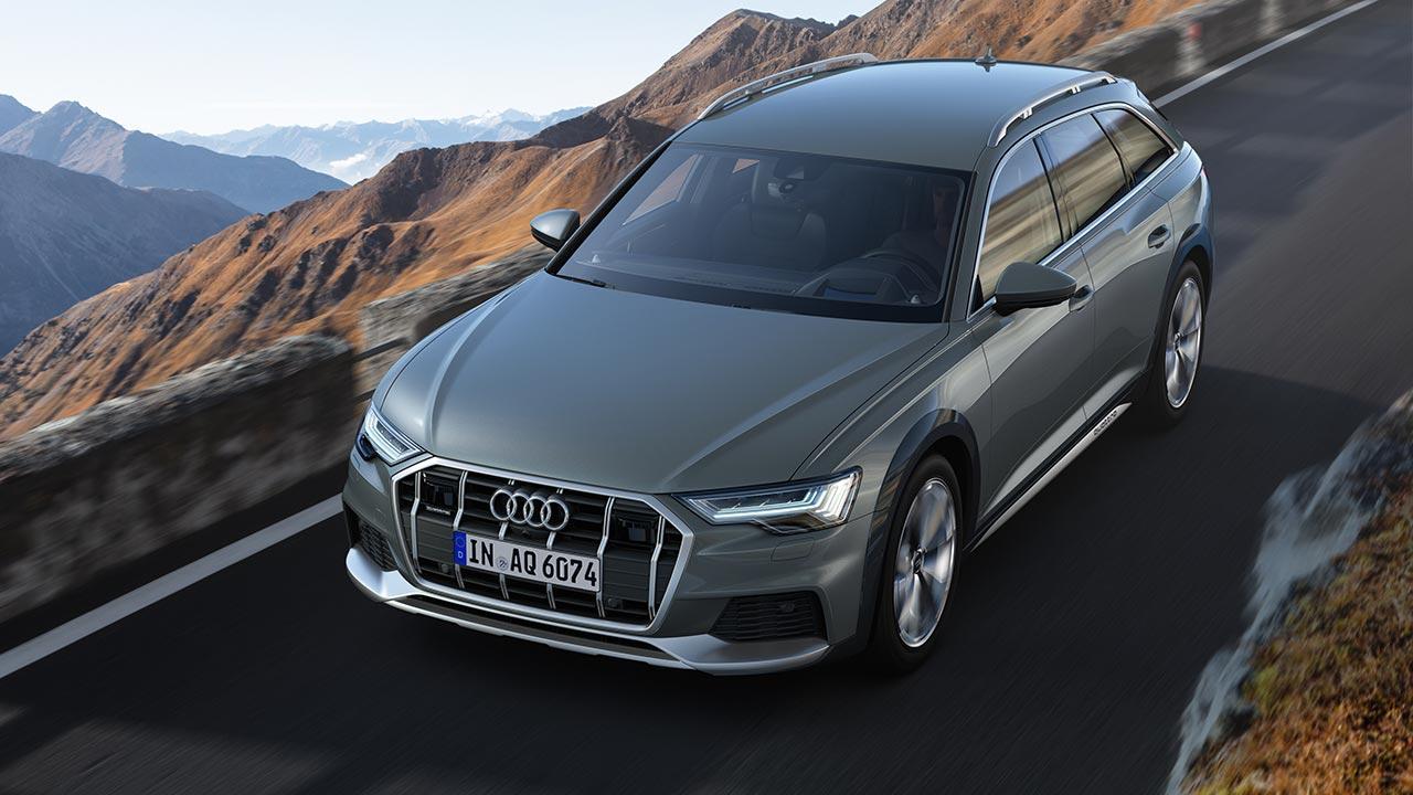 Audi A6 allroad quattro - Vogelperspektive