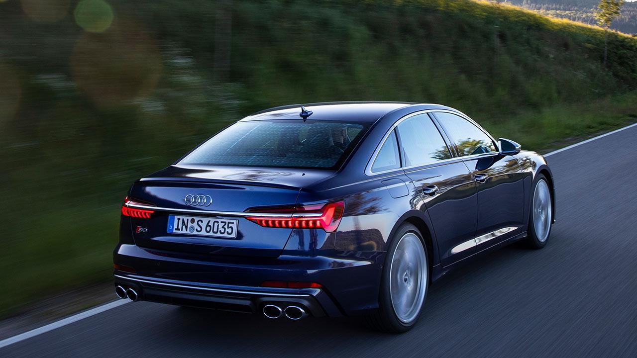 Audi S6 Limousine - Heckansicht