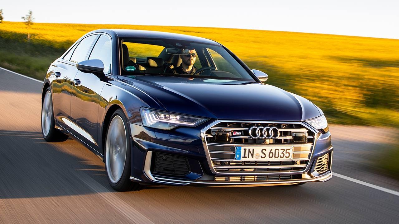 Audi S6 Limousine - in voller Fahrt
