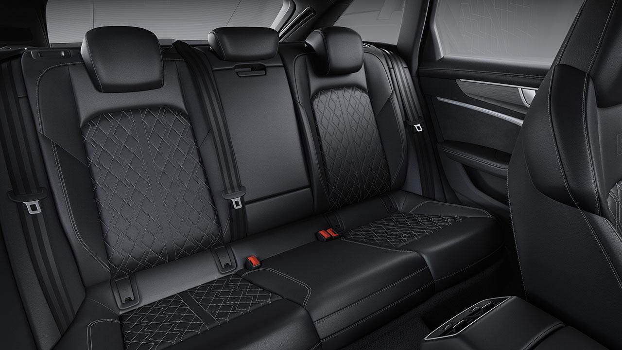 Audi S6 Avant - Rücksitze