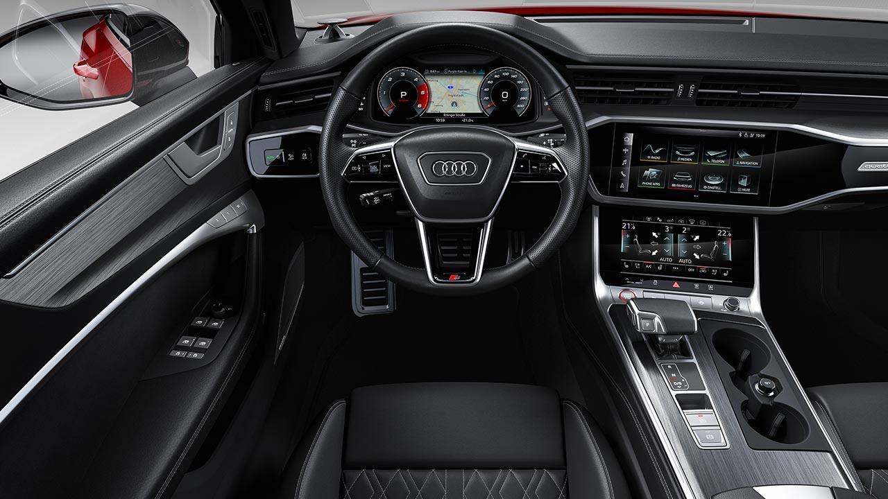 Audi S6 Avant - Cockpit