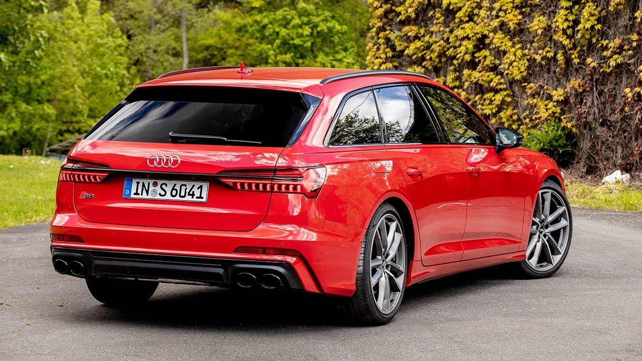 Audi S6 Avant - Heckansicht