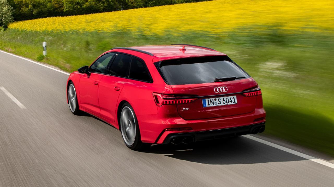 Audi S6 Avant - Vogelperspektive