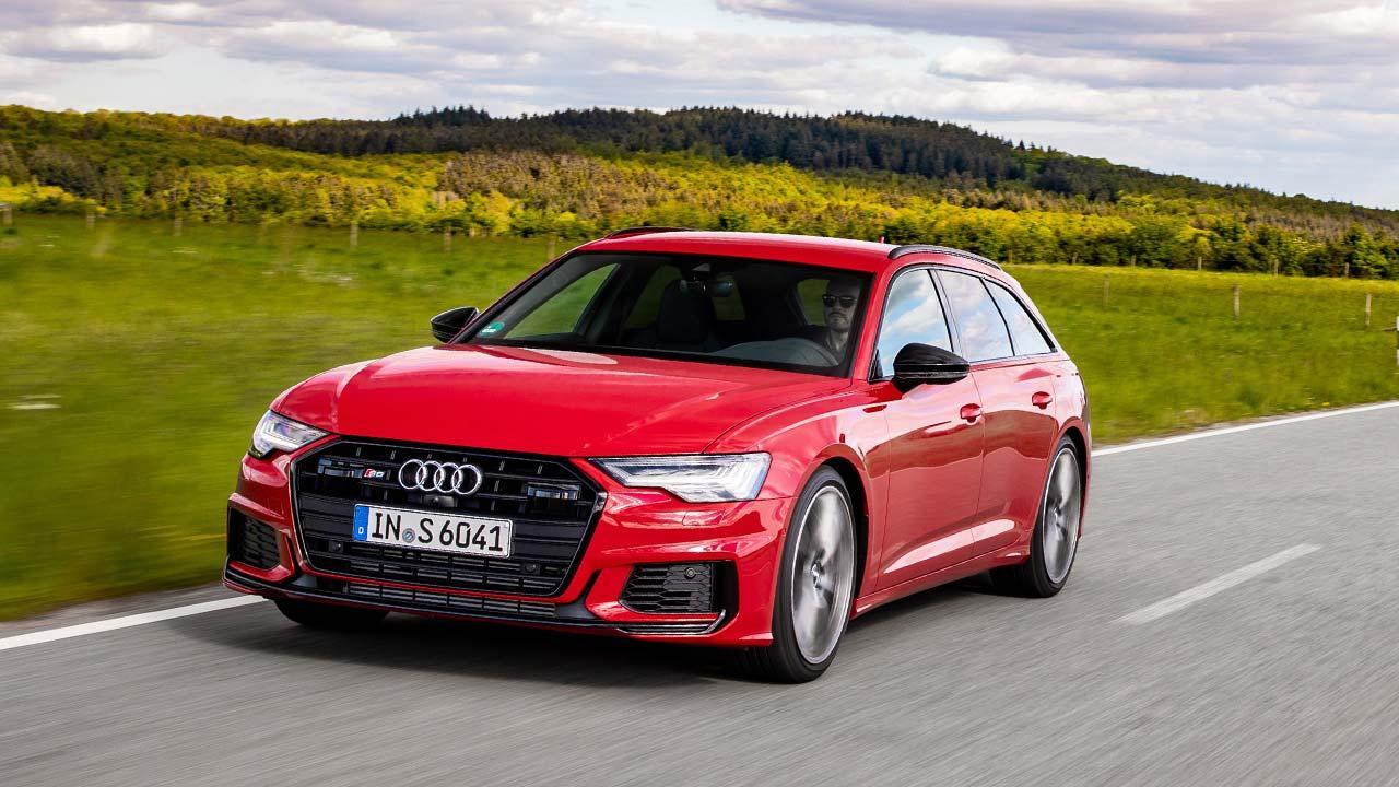 Audi S6 Avant - auf der Landstraße