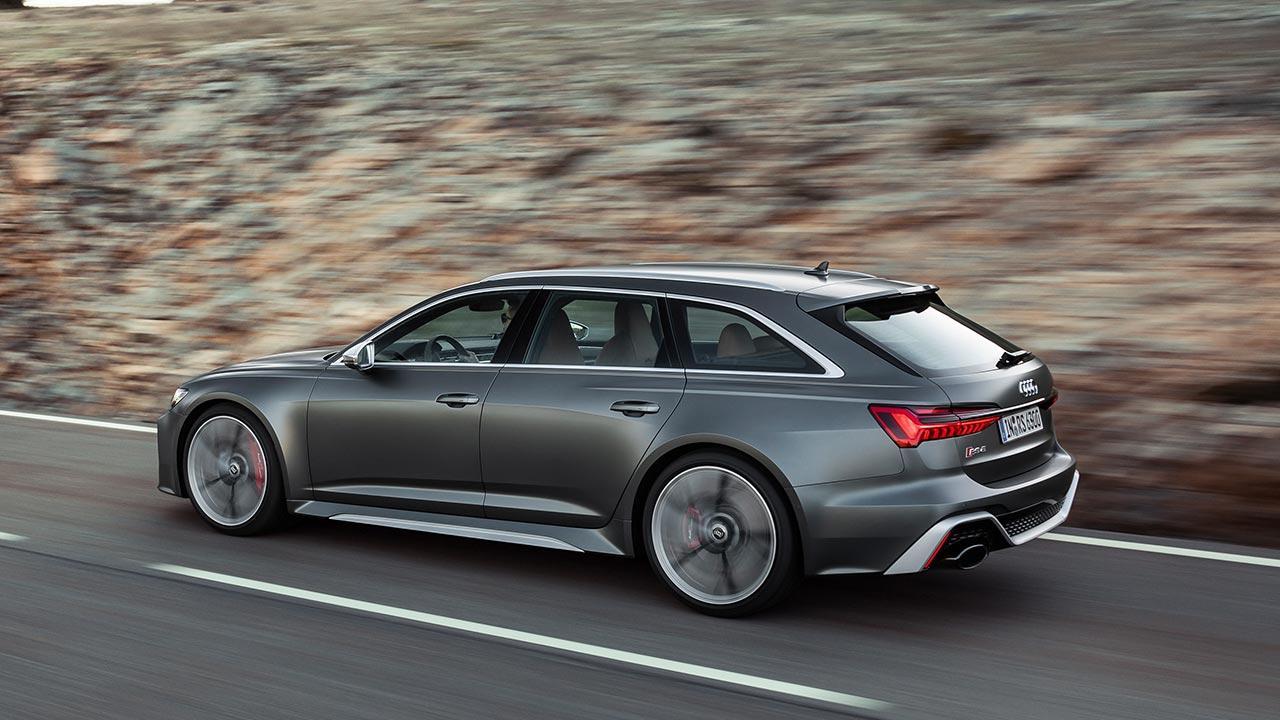 Audi RS 6 Avant - Seitenansicht