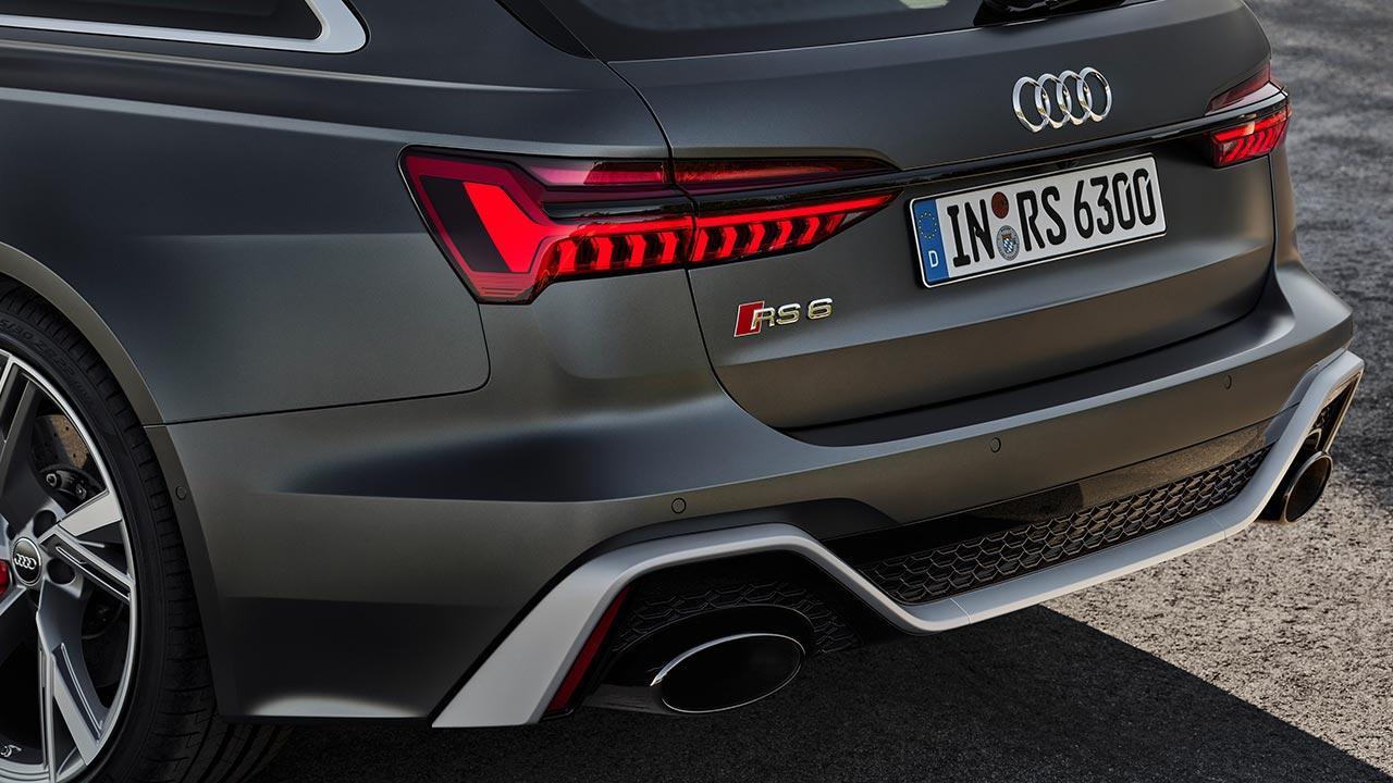 Audi RS 6 Avant - Heck