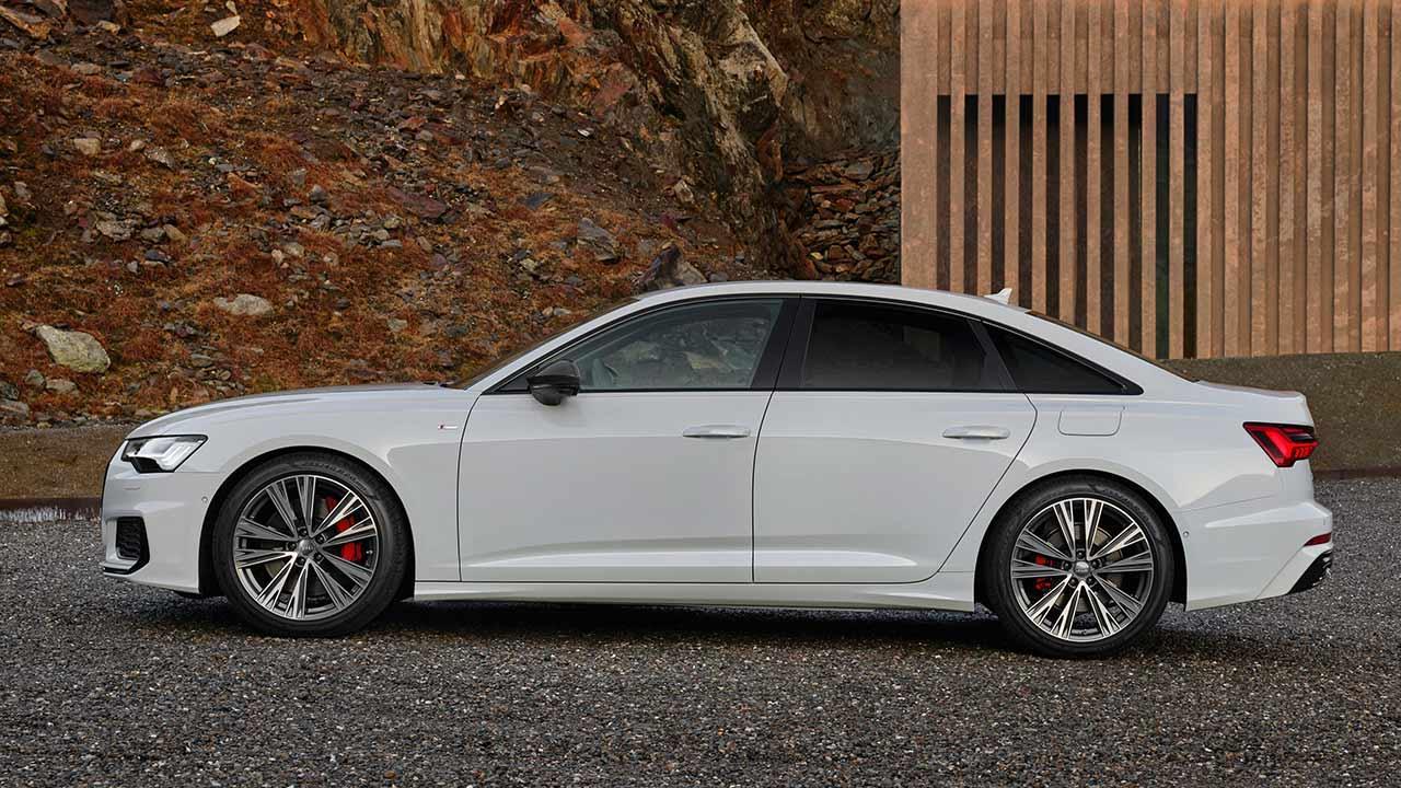 Audi A6 Limousine TFSI e - Seitenansicht