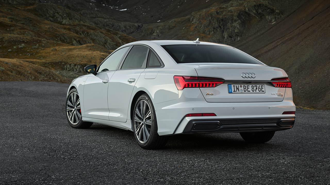 Audi A6 Limousine TFSI e - Heckansicht