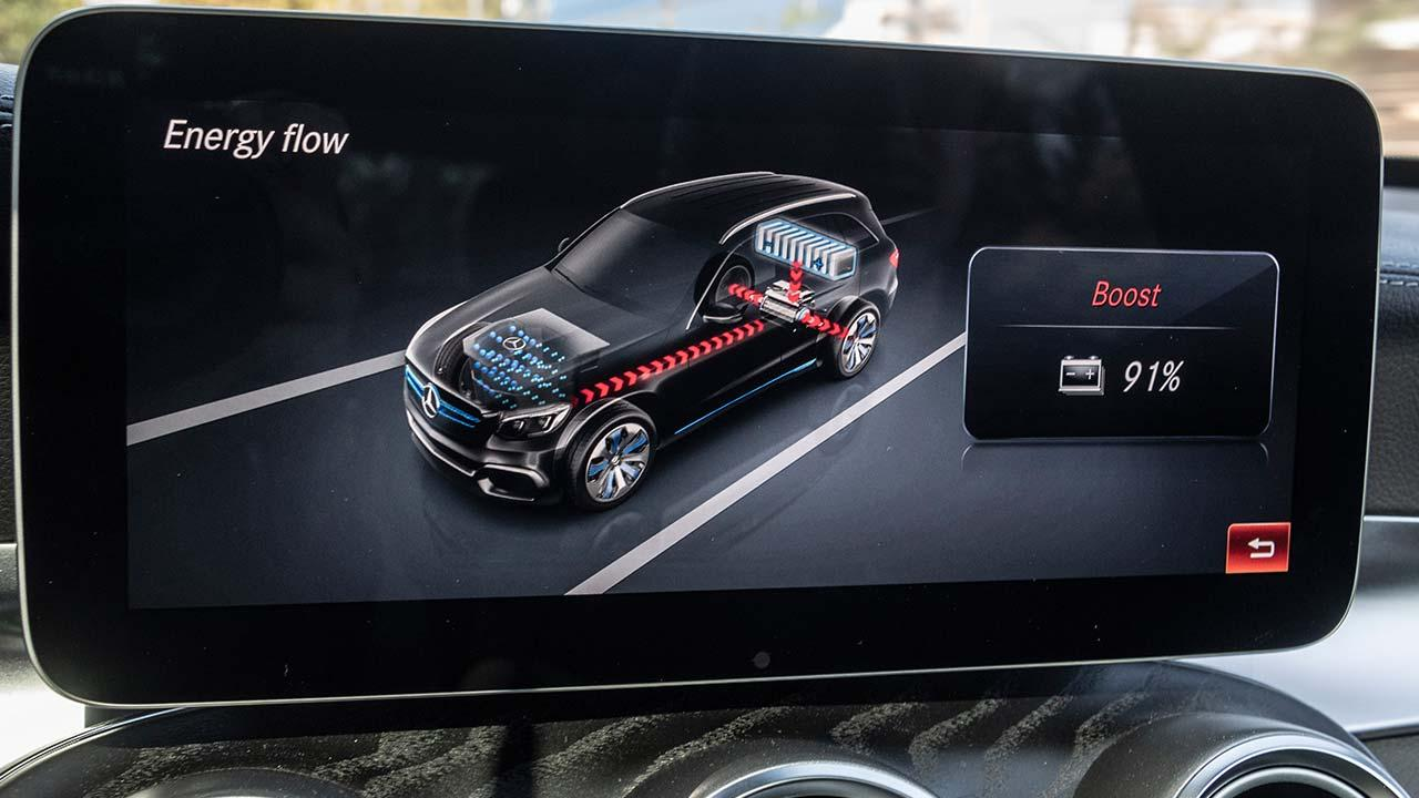 Mercedes-Benz GLC F-Cell -Display