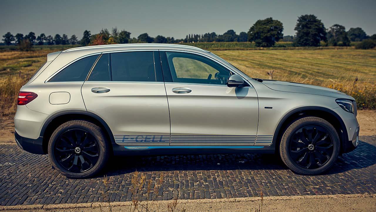 Mercedes-Benz GLC F-Cell - Seitenansicht