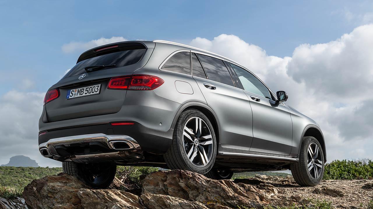 Mercedes-Benz GLC SUV - Heckansicht