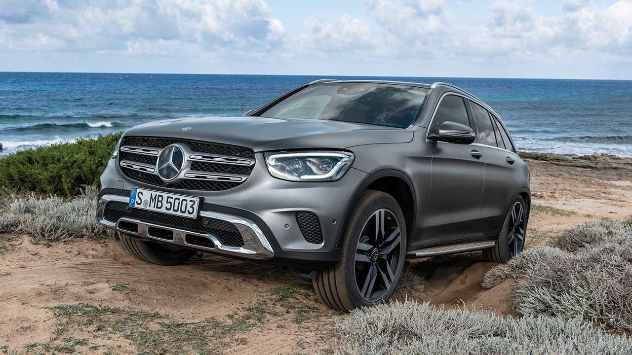 Mercedes-Benz GLC SUV - Front