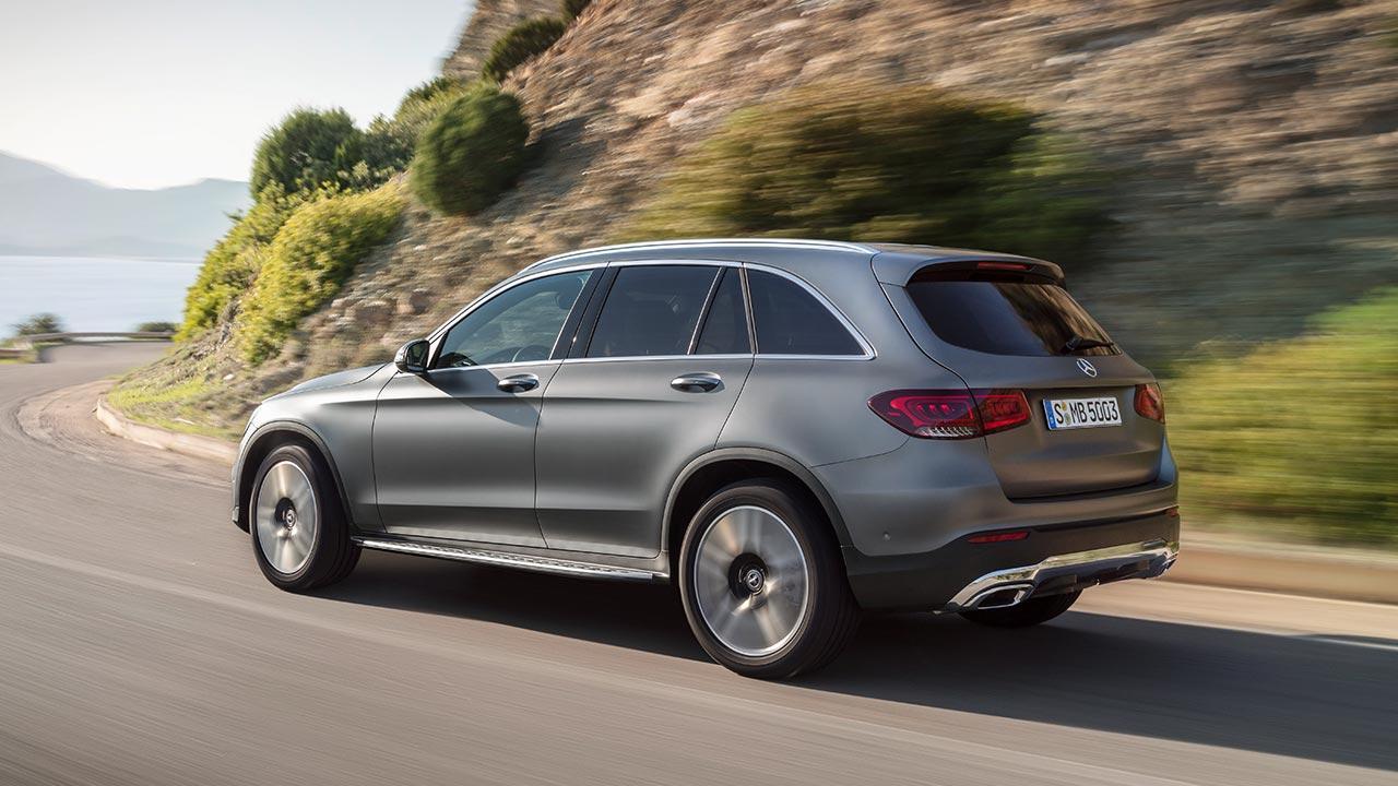 Mercedes-Benz GLC SUV - Seitenansicht