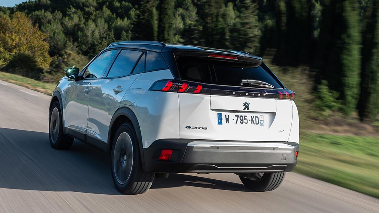 Peugeot e-2008 - Heckansicht