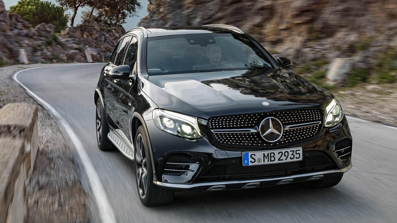 Mercedes-AMG GLC 43 4MATIC SUV  - Front