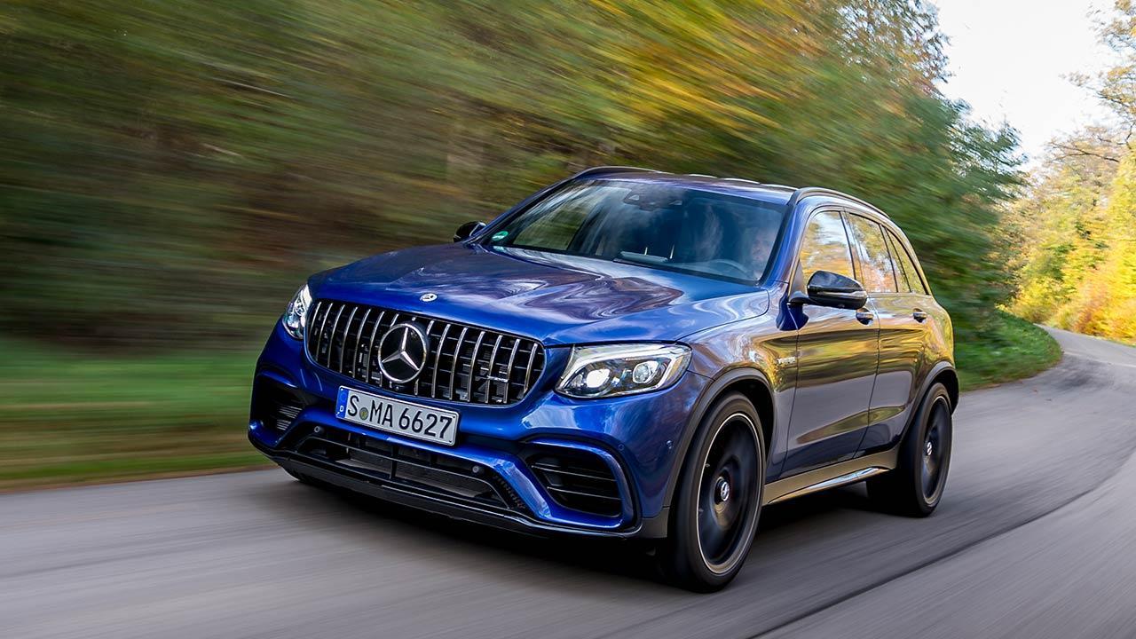 Mercedes-AMG GLC 63 4MATIC+ SUV - Frontansicht