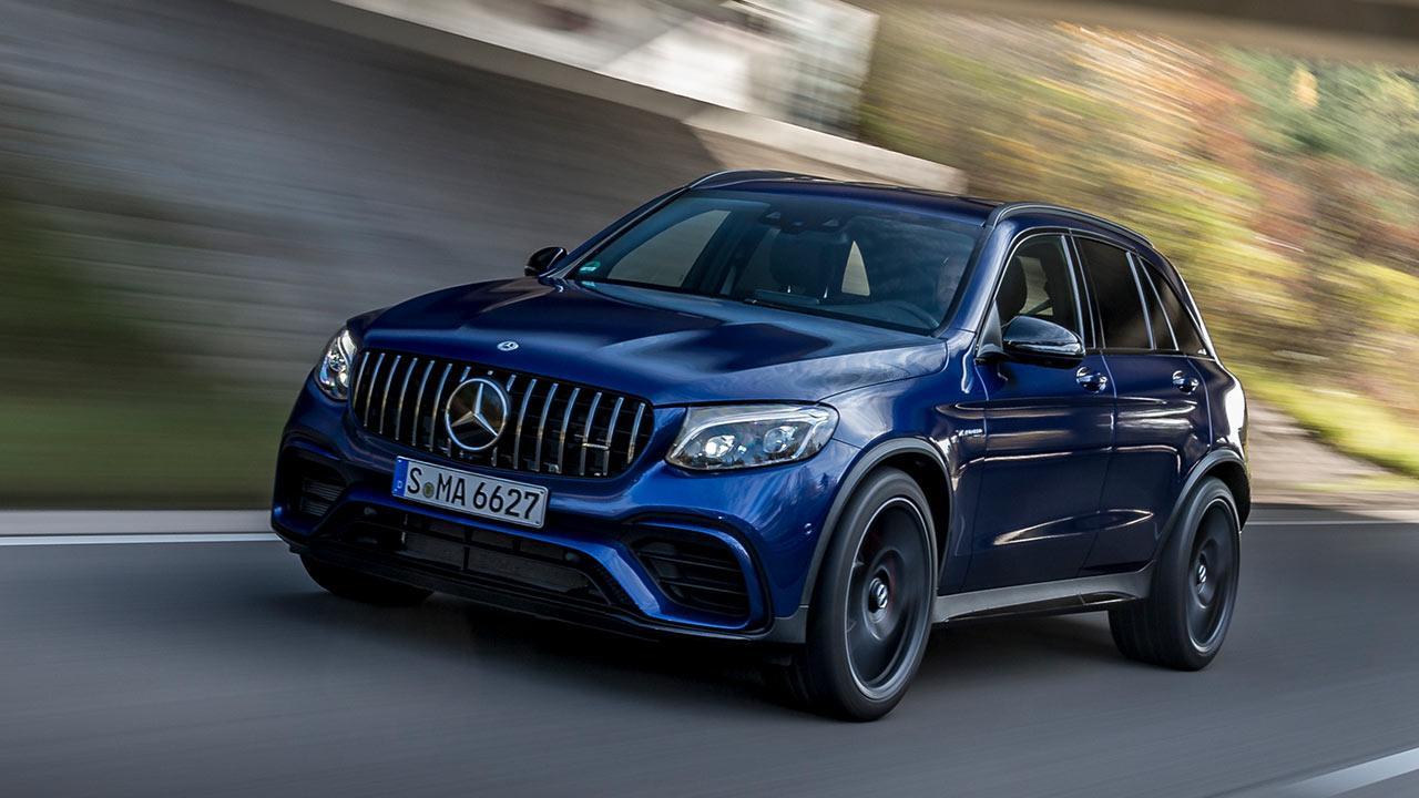 Mercedes-AMG GLC 63 4MATIC+ SUV - in voller Fahrt