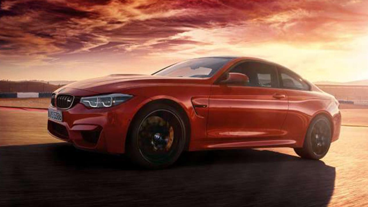 BMW M4 Coupé - im Sonnenuntergang