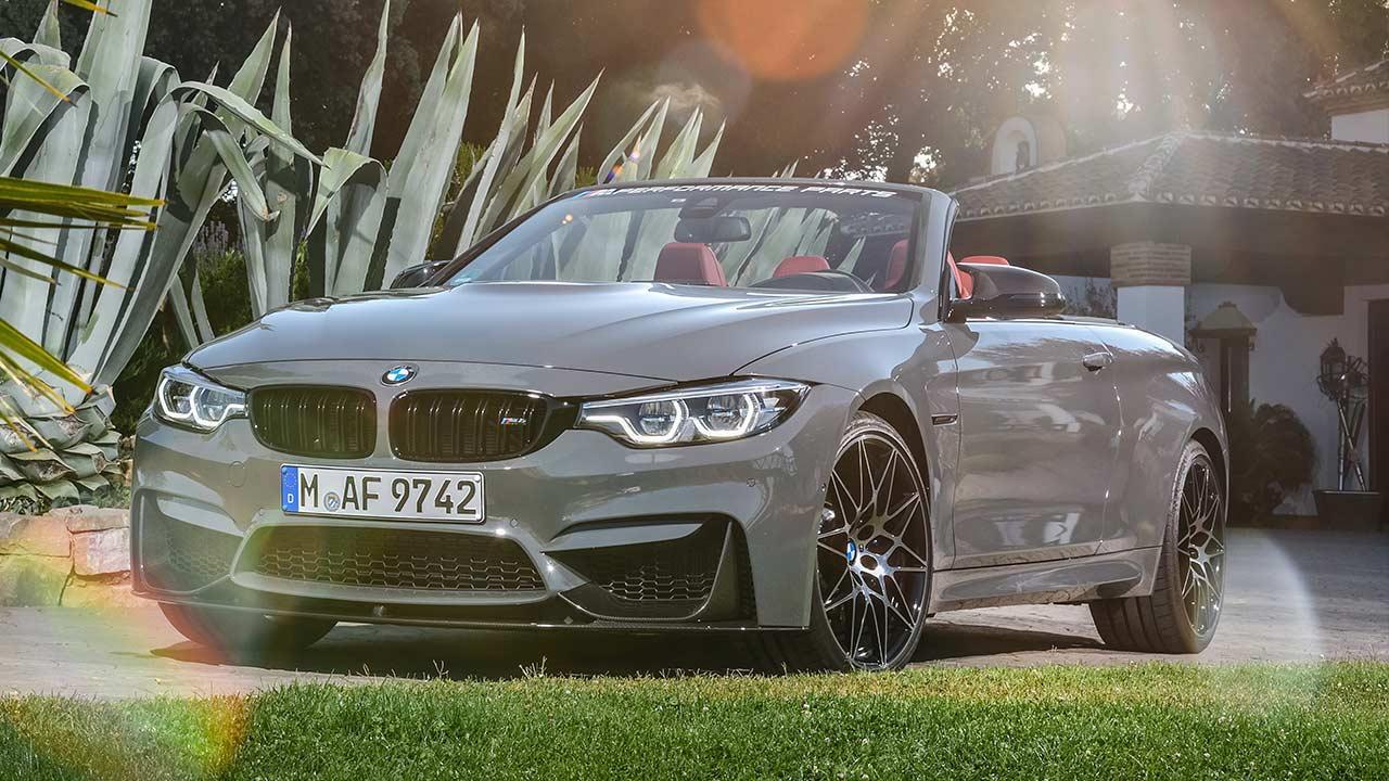 BMW M4 Cabrio - Frontansicht