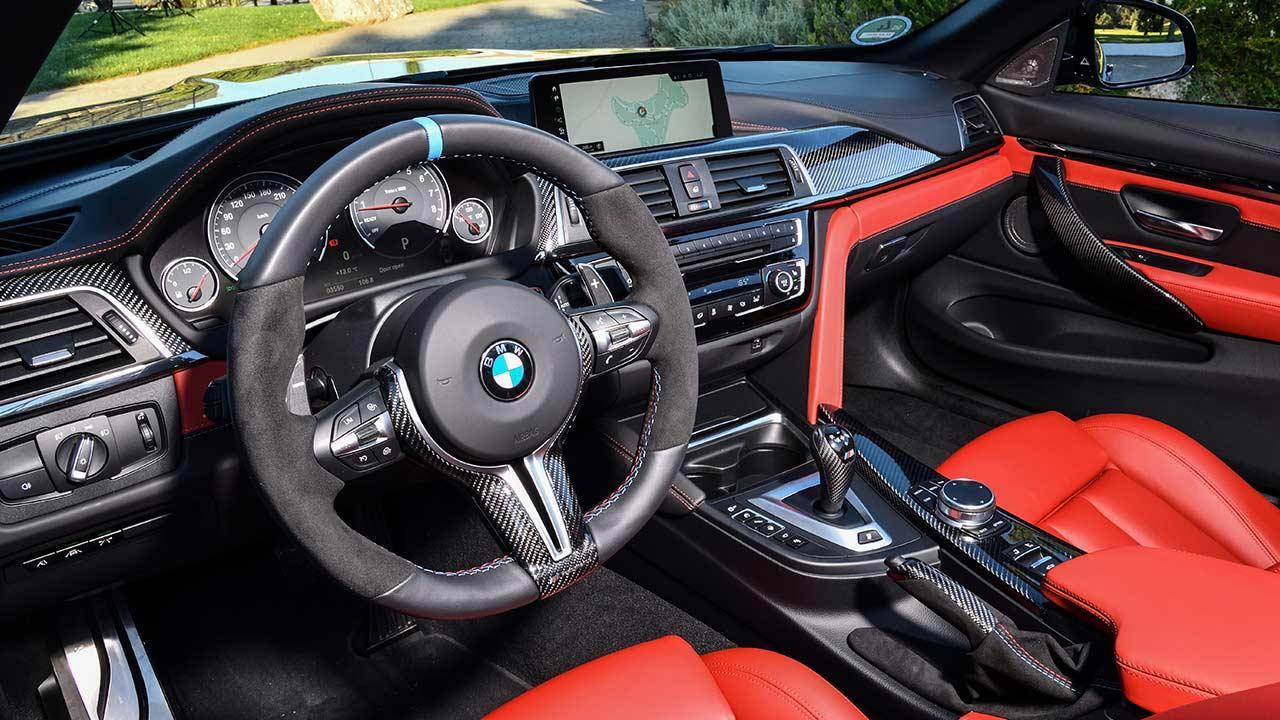 BMW M4 Cabrio - Cockpit