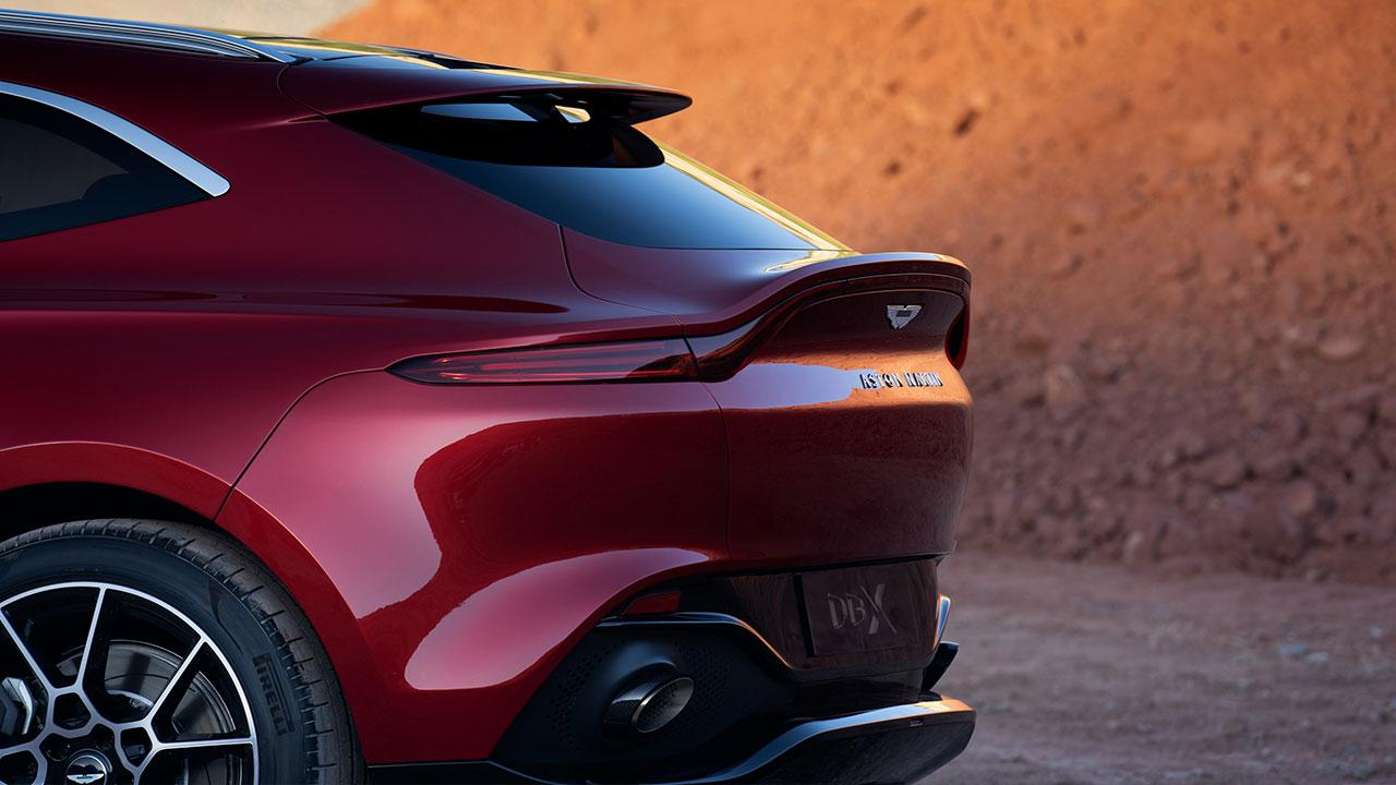 Aston Martin DBX - Heck