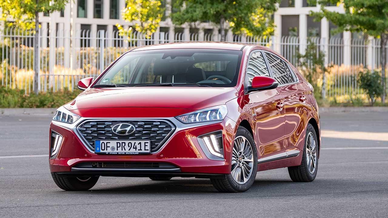 Hyundai IONIQ Plug-in-Hybrid - Frontansicht