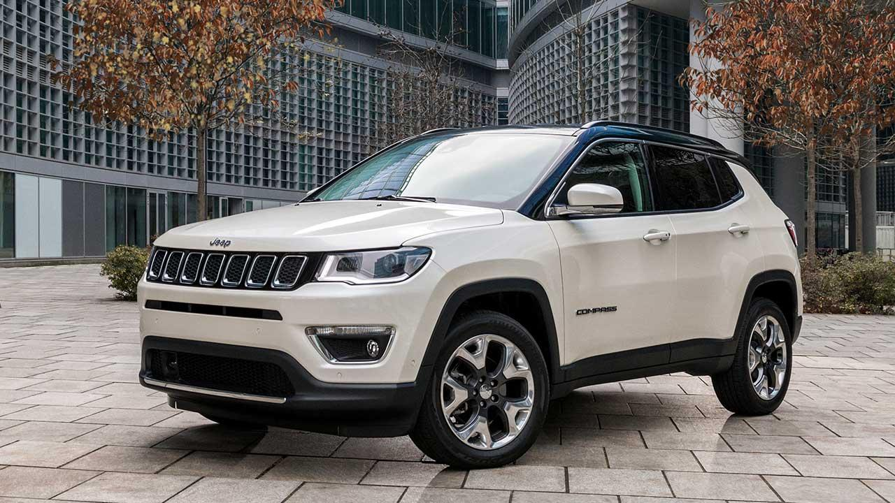 Jeep Compass - in weiss