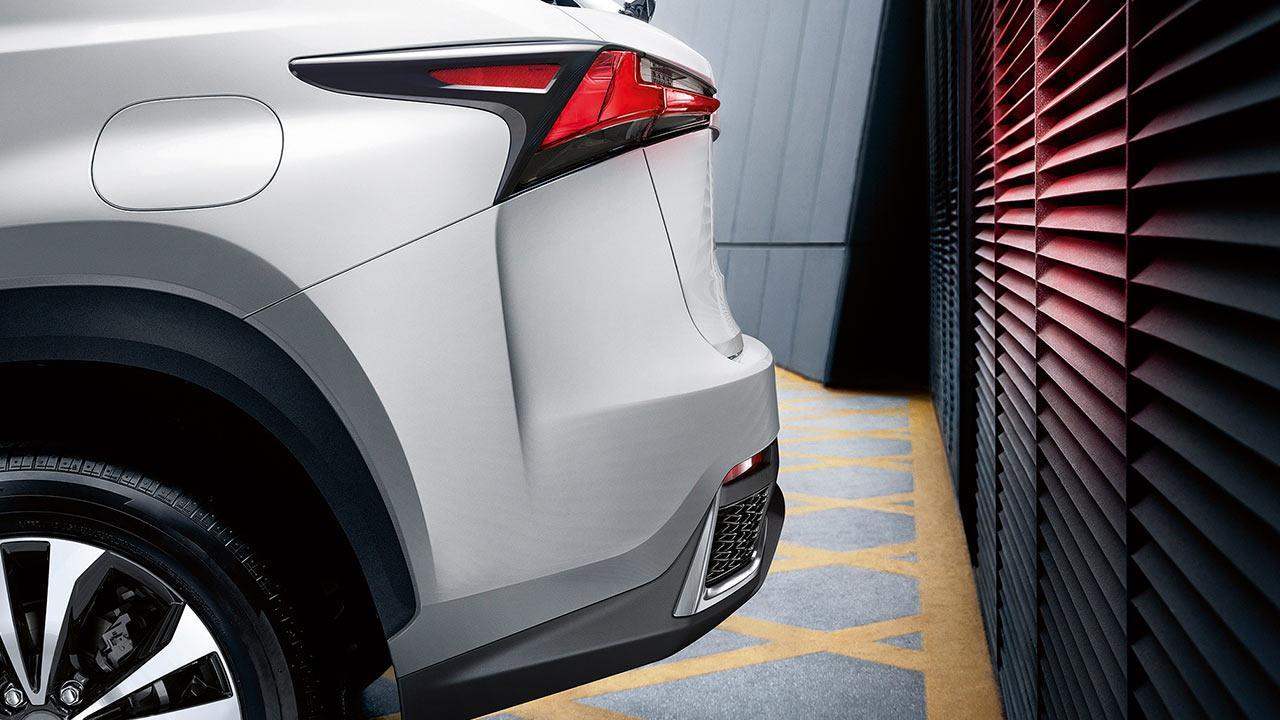 Lexus NX - Heckpartie