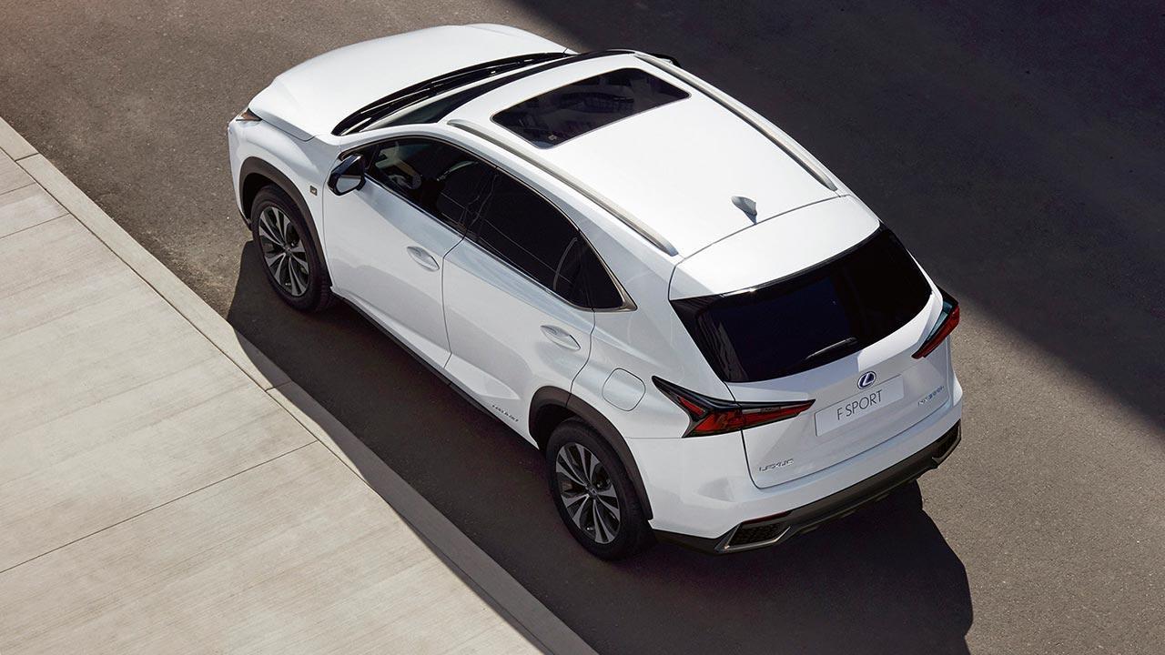 Lexus NX - Vogelperspektive
